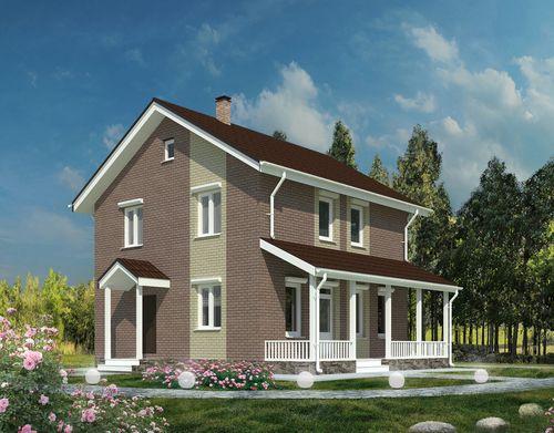 Проект дома Тобино