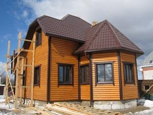 Двухэтажный каркасный дом «Дубрава»