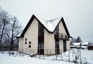 Двухэтажный каркасный дом Волхов