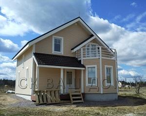 Двухэтажный каркасный дом Сосново-2
