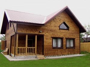 Двухэтажный каркасный дом Стандарт класс Васкелово