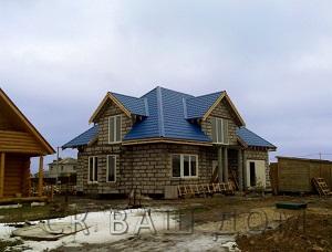 Дом из газобетона Красное Село