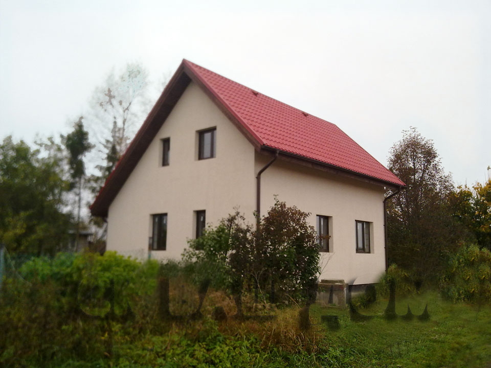 Дом из газобетона Тобино