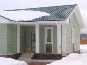 Одноэтажный каркасный дом «СТАНДАРТ-КЛАСС» Сосново