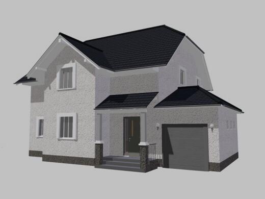 Проект двухэтажного дома комфорт