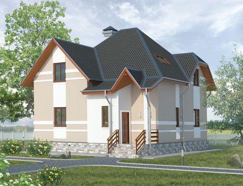 Проект дома Дубрава