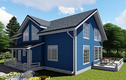 Проект дома Лесколово