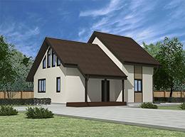Проект дома Хаппо-Ое