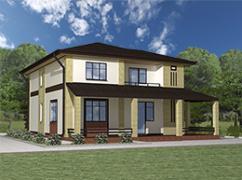 Каркасный дом Сосново