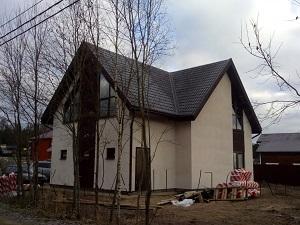 Двухэтажный каркасный дом Сосново